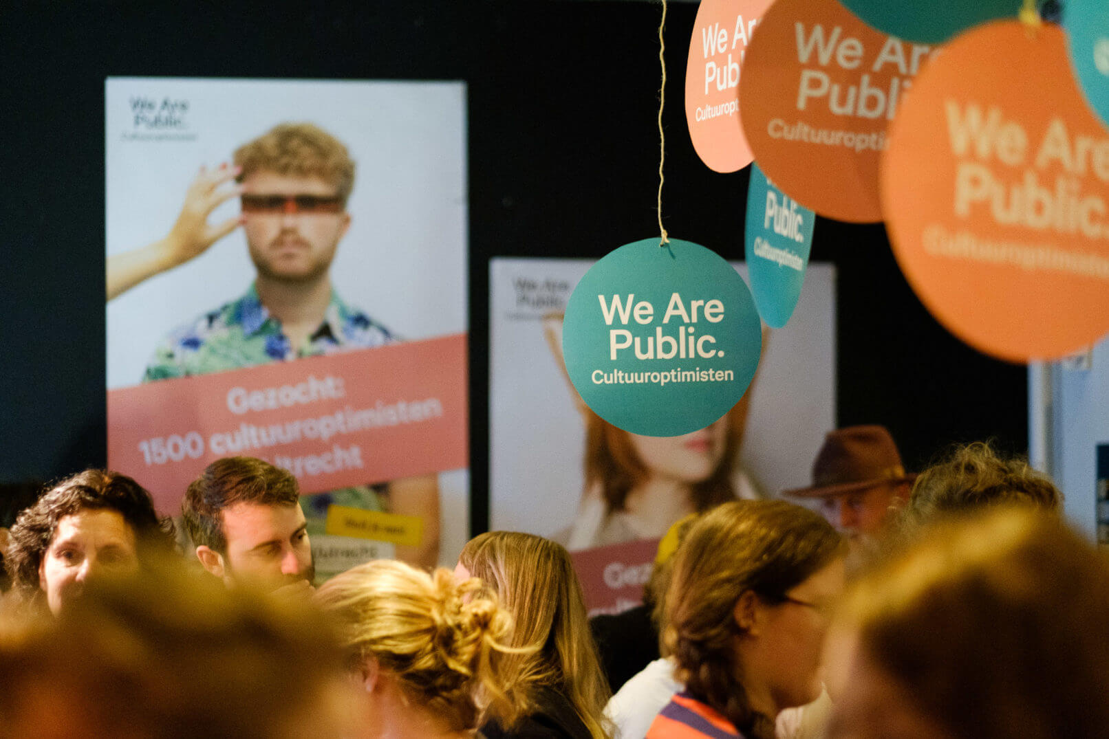 Creatief communicatiebureau Buro Dertig We Are Public case