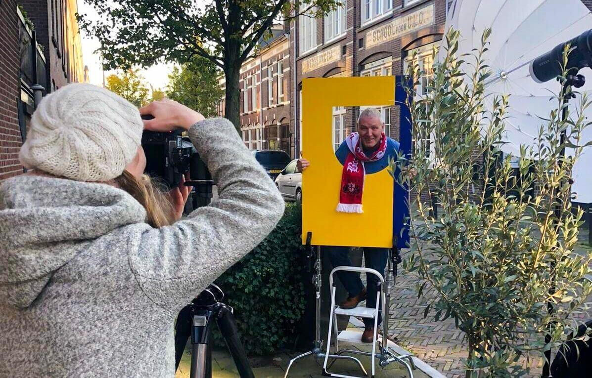 Vrijwilligers centrale Utrecht portretfoto actiefoto fotograaf